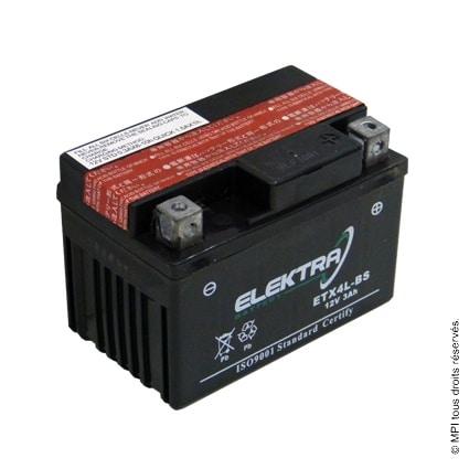 BATTERIE ETX4L-BS (YTX4L-BS)