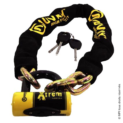 Chaîne antivol avec Bloc Disque XTREM S.R.A