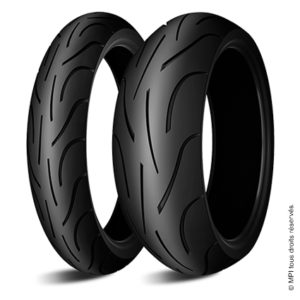 Pneu Michelin Pilot Power 2CT : 160/60-17 69W, 120/70-17 58W