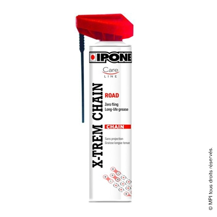 SPRAY CHAÎNE X-TREM ROAD 250ML IPONE