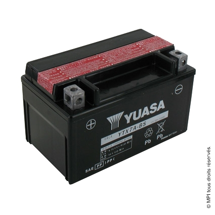 BATTERIE YTX7A-BS (YUASA)