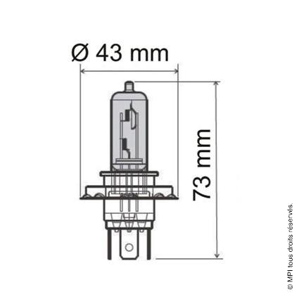 AMPOULE 12V / 35W (HS1) PHILIPS