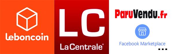 Leboncoin, LaCentrale, ParuVendu, Facebook Marketplace ...