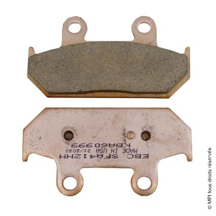 (SFA412HH) PLAQUETTE BURGMAN 650 (METAL FRITE)