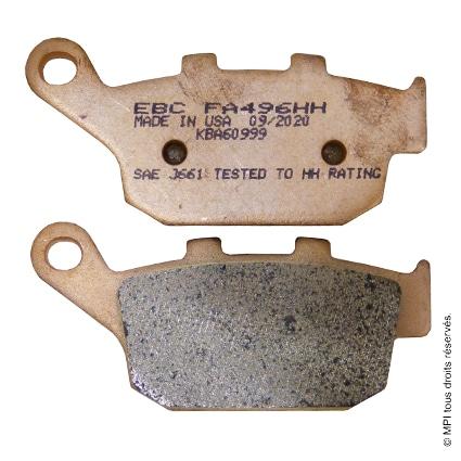 (FA496HH) PLAQUETTE X-ADV AR (METAL FRITE)